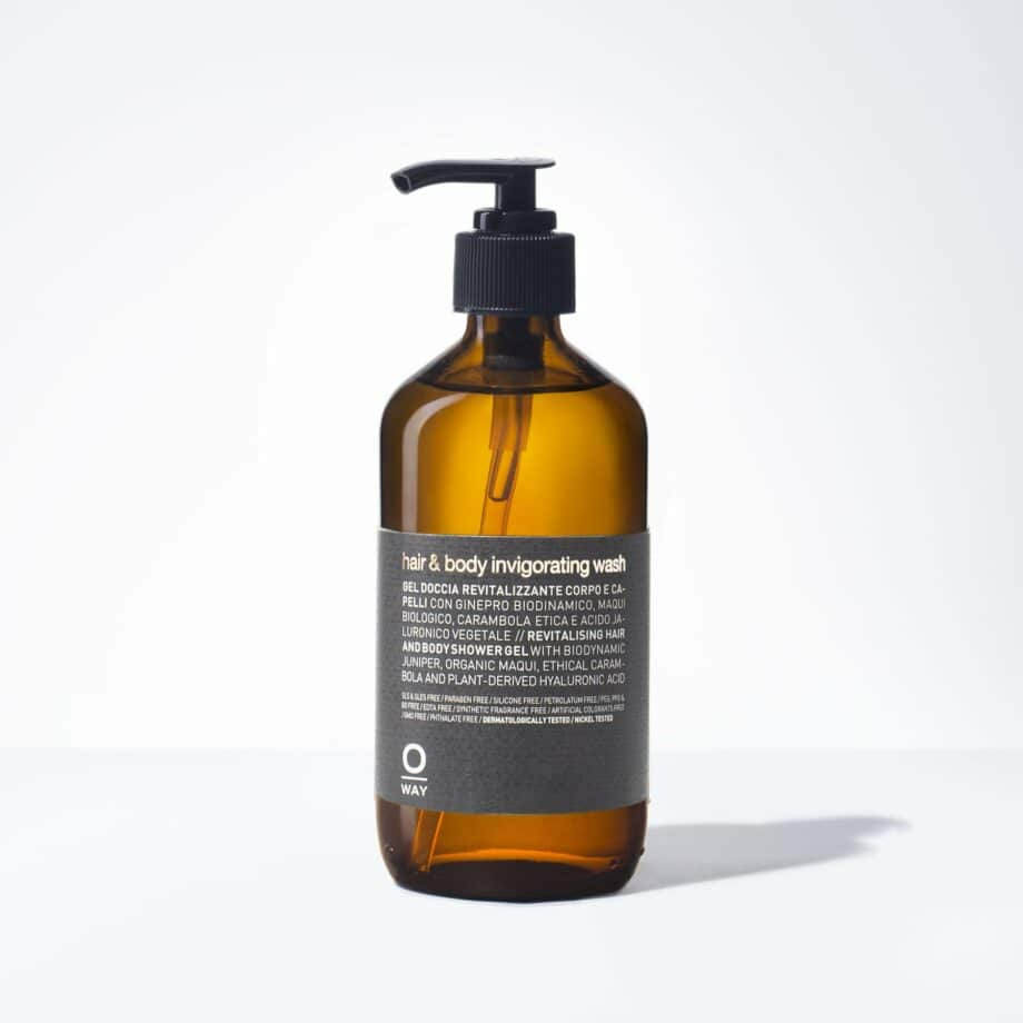 hair & body invigorating wash