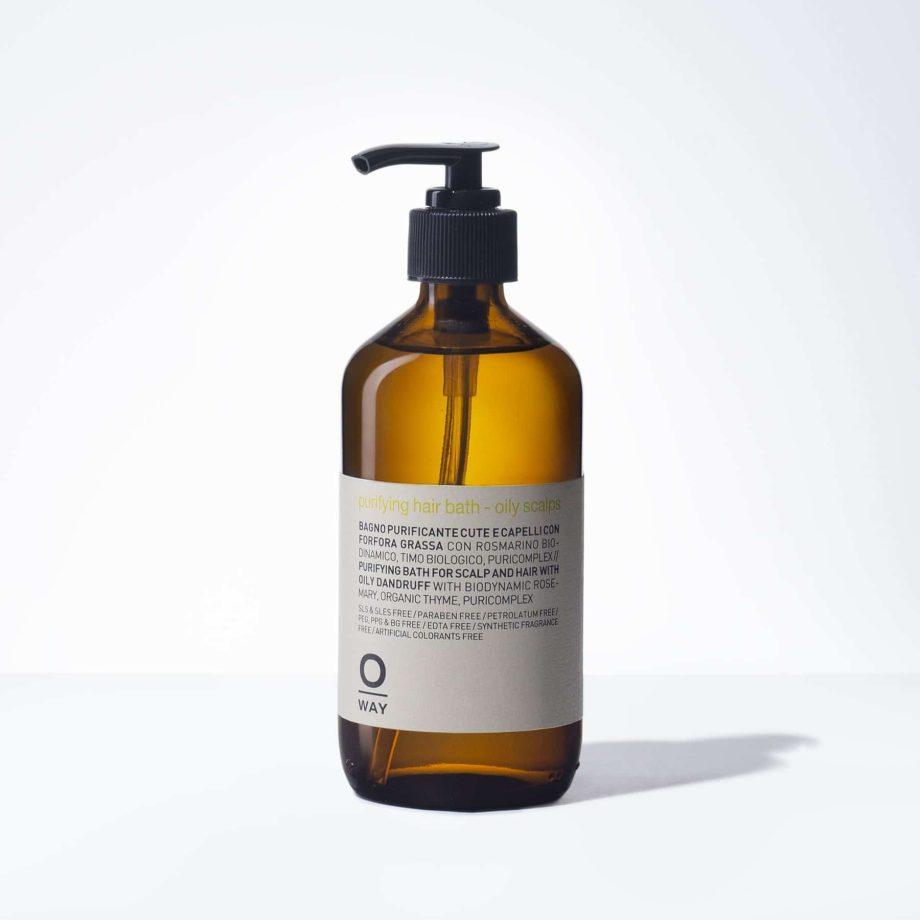 Purifying hair bath – oily scalps