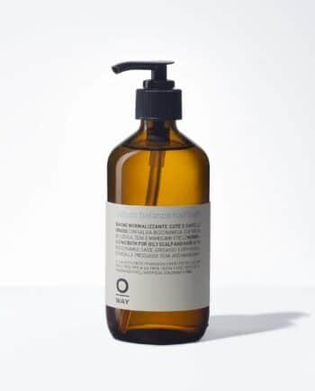 sebum balance hair bath